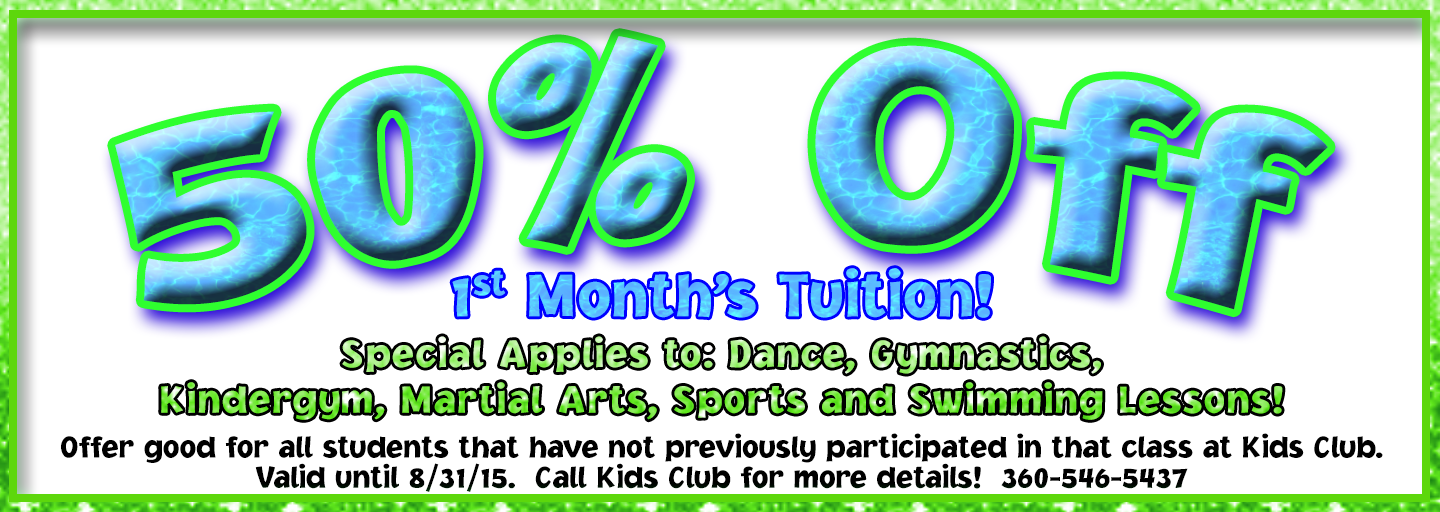 Half Off All Lessons